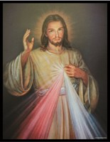 The Divine Mercy Stained Glass Art
