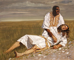 The Good Samaritan by Stephen S. Sawyer - 12 Sizes Available