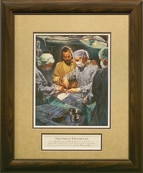 I Will Instruct You by Nathan Greene - Framed Christian Art