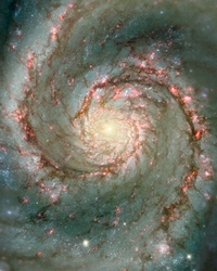 The Heart Of The Whirlpool Galaxy - 2 Options Available