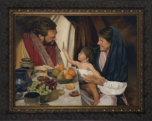 The Holy Family by Jason Jenicke - 2 Framed Options