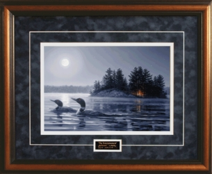 The Honeymooners - Framed Christian Wildlife Art