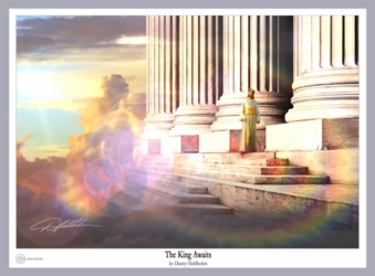 The King Awaits by Danny Hahlbohm - Unframed Christian Art