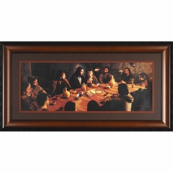 The Last Supper by Fidel Garcia - Framed