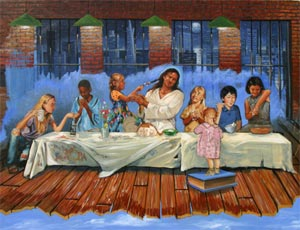 The Last Supper by Stephen S. Sawyer - 14 Unframed Options