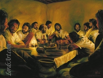 The Last Supper Limited Edition by Jason Jenicke - 3 Unframed Options