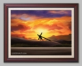 The Lonely Road by Damon Bowie - 6 Framed & Unframed Options