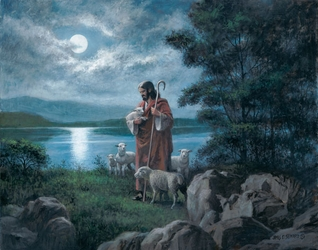 The Lord Is My Shepherd by James Seward - 4 Options Available
