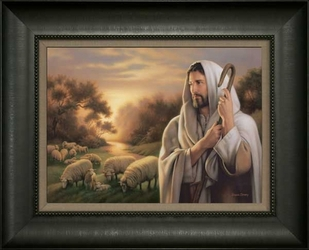 The Lord is My Shepherd by Simon Dewey - 6 Framed & Unframed Options