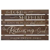 The Lord Is My Shepherd Pallet Decor - Christian Home & Wall Decor