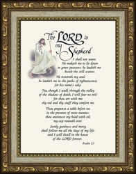 The Lord is my Shepherd...Psalm 23 Sympathy Bereavement