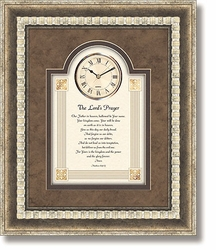The Lord's Prayer 3D Wall Clock by Heartfelt