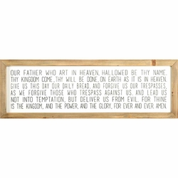 The Lord's Prayer Christian Home & Wall Decor