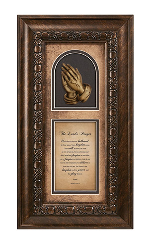 The Lordu0027s Prayer Framed Christian Wall Decor