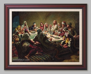 The Lord's Supper - 6 Framed & Unframed Options