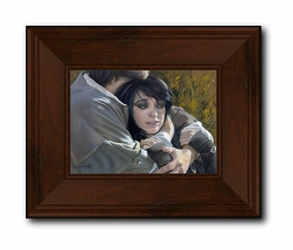 The Lost Sheep (Modern) by Liz Lemon Swindle - Framed or Unframed