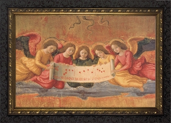 The Nativity(Detail of Angels) by Ghirlandaio - 2 Framed Options