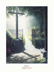 The Open Gate by John Marshall - Unframed Christian Art
