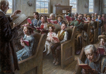 The Prairie Church Limited Edition by Morgan Weistling - 3 Sizes Available