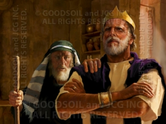 The Prophet Samuel And King Saul - 13 Selections Available