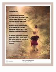 The Unknown Path by Danny Hahlbohm - Unframed Christian Art