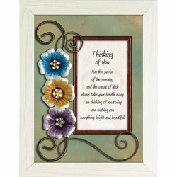 Thinking of You - Framed Christian Tabletop Home Decor