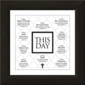 This Day Framed Christian Home Decor