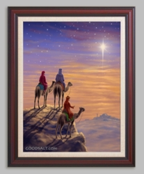 Three Wise Men by Steve Bridger - 6 Framed & Unframed Options