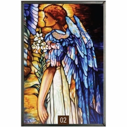 Tiffany - The Resurrection Angel Stained Glass Art