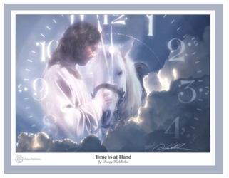 Time Is At Hand by Danny Hahlbohm - 5 Unframed Options