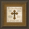 To Our Pastor - Framed Christian Home Decor