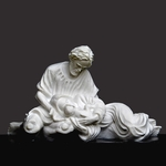 Tranquility Christian Art Sculpture by Timothy P. Schmalz