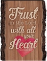Trust In The Lord Barky Sign