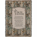 Truth Hunter Loom Soft Tapestry Throw