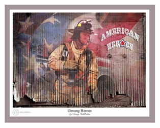 Unsung Heroes by Danny Hahlbohm - Unframed Christian Art