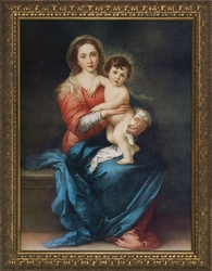 Virgin with Child by Alessandro Botticelli - 4 Framed Options