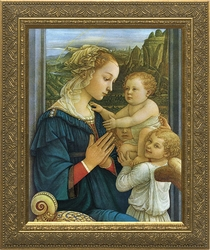 Virgin with Child by Fra Filippo Lippi - 4 Framed Options