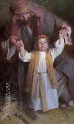Walking with God by Morgan Weistling - 3 Unframed Options