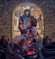 Water To Wine by Morgan Weistling - 2 Unframed Options