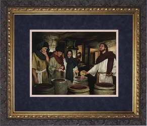 Wedding at Cana by Jason Jenicke - 2 Matted & Framed Options