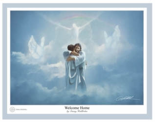 Welcome Home by Danny Hahlbohm - Unframed Christian Art