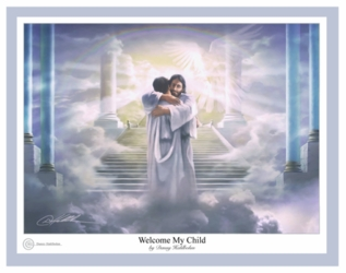 Welcome My Child by Danny Hahlbohm - Unframed Christian Art