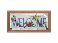 Welcome (Songbirds) Stained Glass Art