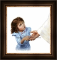 What Happened To Your Hand? (Girl)  by Lars Justinen - 28 Framed & Unframed Options