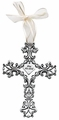 White Filigree Bless This Child Wall Cross