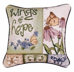 Wings of Hope Pillow