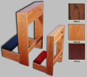 Wooden Carved Kneeler