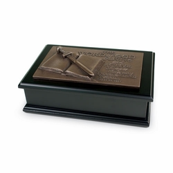 Word of God Scripture Box - Christian Home Decor