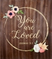 You Are Loved Wood Pallet Sign - Christian Wall Decor