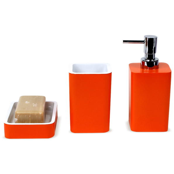district17 arianna 3 piece bathroom accessory set in